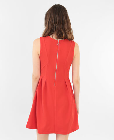 Robe patineuse rouge