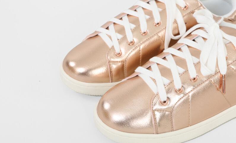 Scarpe da basket metallizzate cobrizo