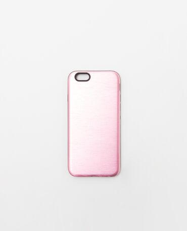 Coque compatible iPhone 6 rose fuchsia
