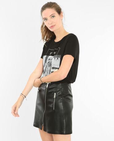 Camiseta fantasía negro