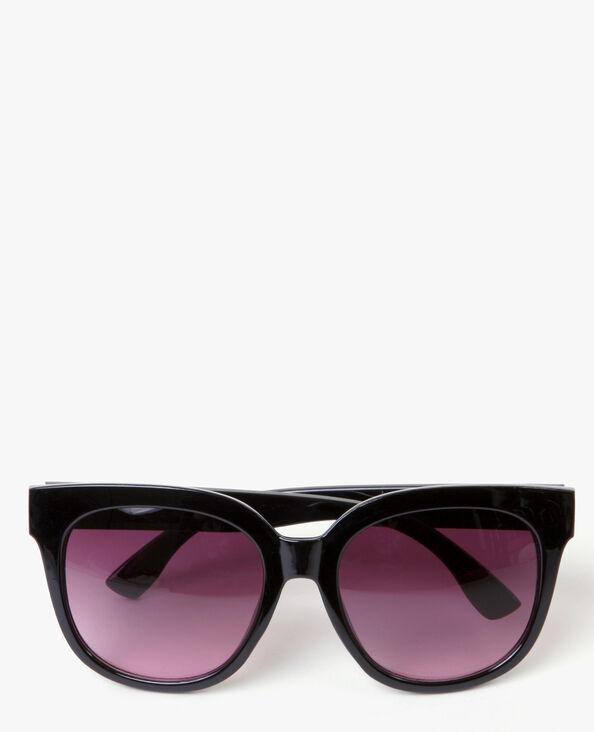 Gafas de sol grandes negro