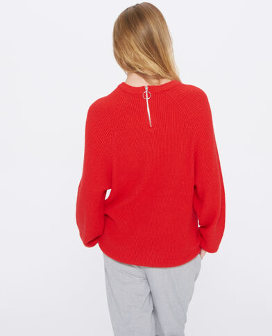Pull lungo rosso