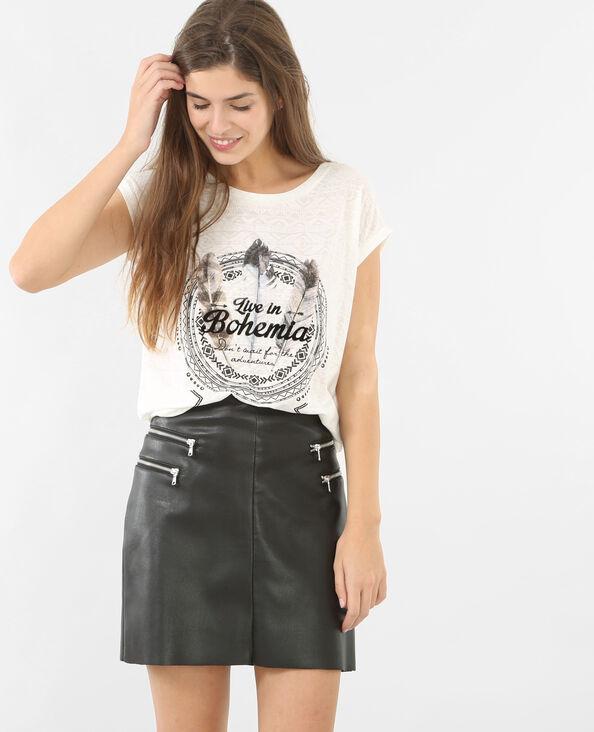 Camiseta étnica crudo