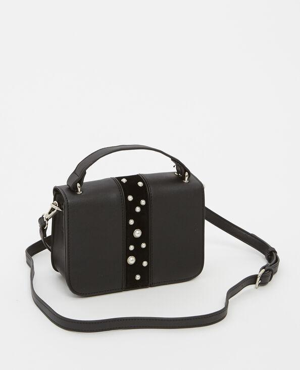 Piccola borsa con perle nero