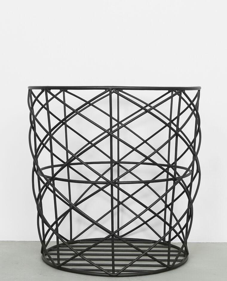 metallkorb schwarz 975008899a08 pimkie. Black Bedroom Furniture Sets. Home Design Ideas