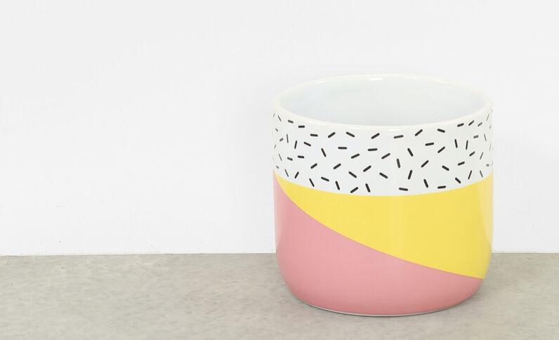 Keramiktopf Gelb