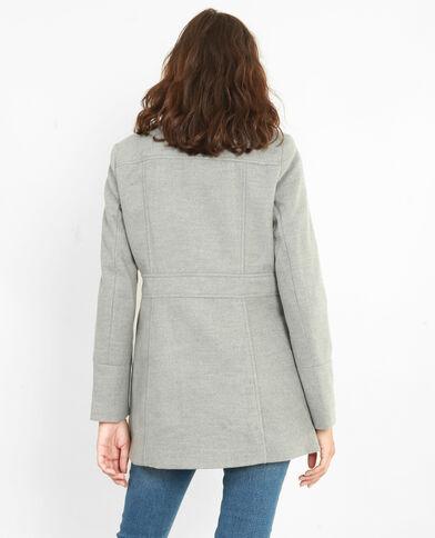 Cappotto doppia abbottonatura grigio chiné