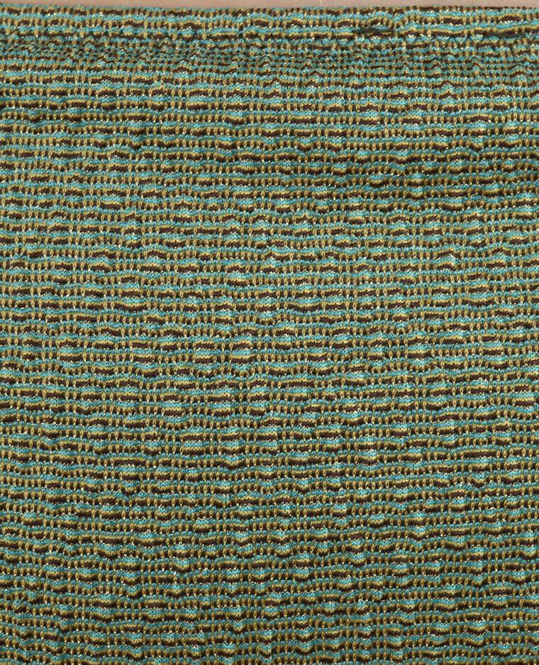 Parte inferior de biquini de lúrex verde