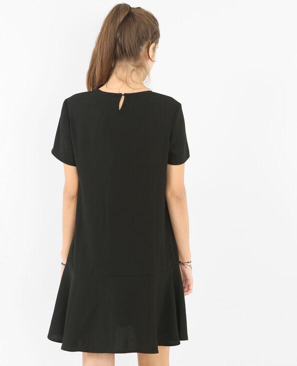 Vestido ancho negro