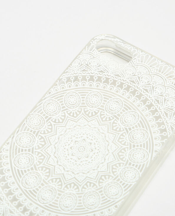 Iphone-Schale im Boheme-Look Naturweiß