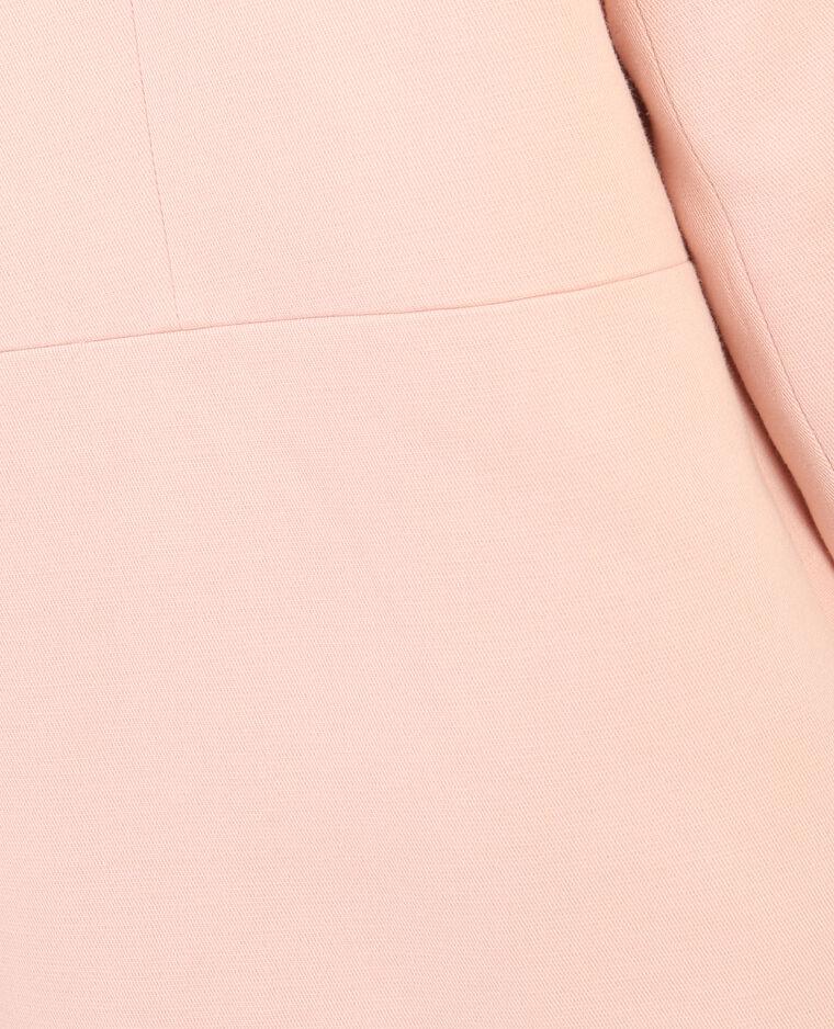 Sommermantel mit Reißverschluss Rosa