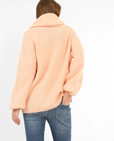 Oversize-Pullover Rosa