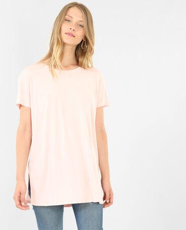 - Kurzärmeliges T-Shirt Rosa