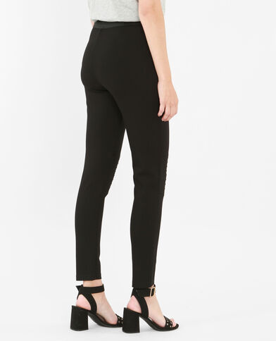 Leggings biker negro