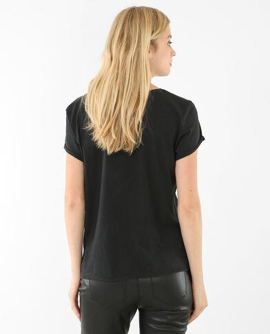 Camiseta roquera Gris