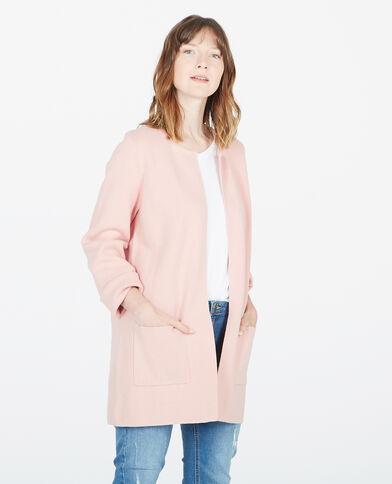 Blazer met boothals roze