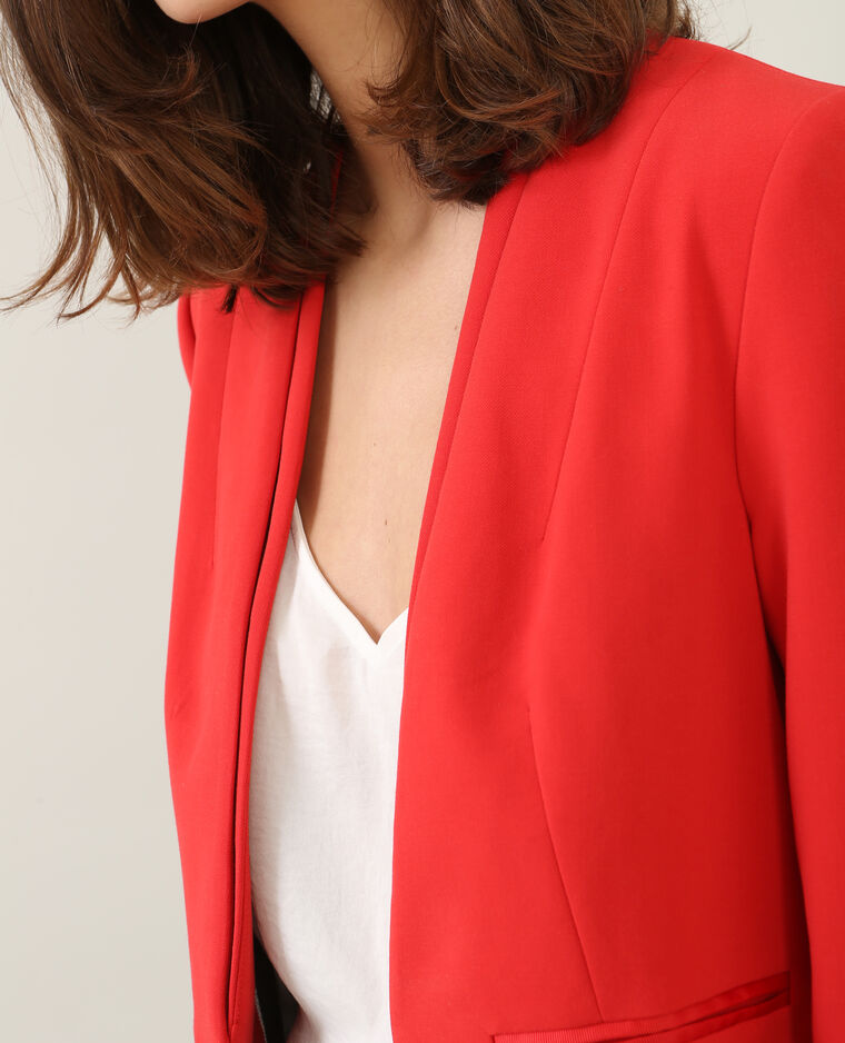 kurzer damen blazer rot 323122342a03 pimkie. Black Bedroom Furniture Sets. Home Design Ideas