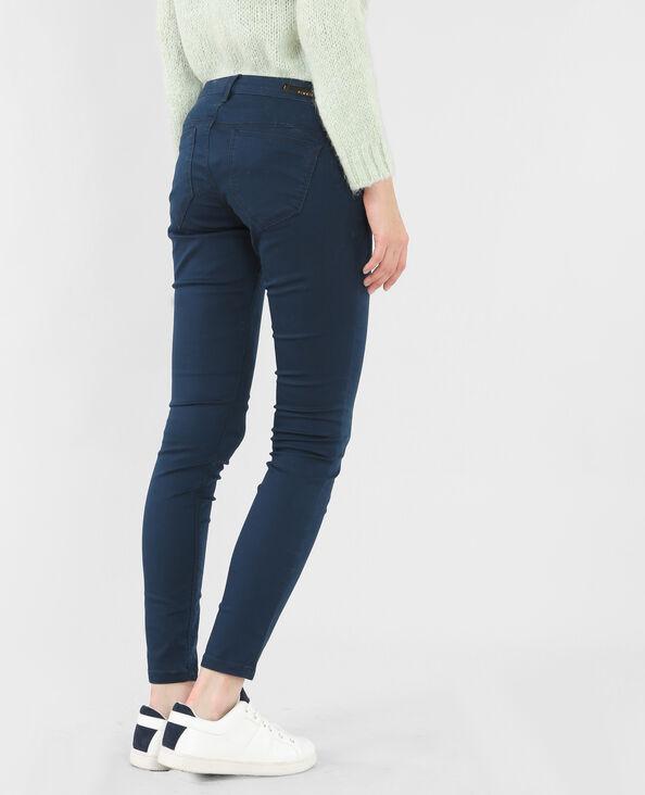 Slim-Hose Marineblau