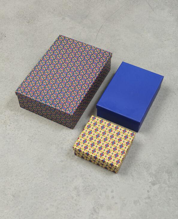 Set van drie dozen Beige