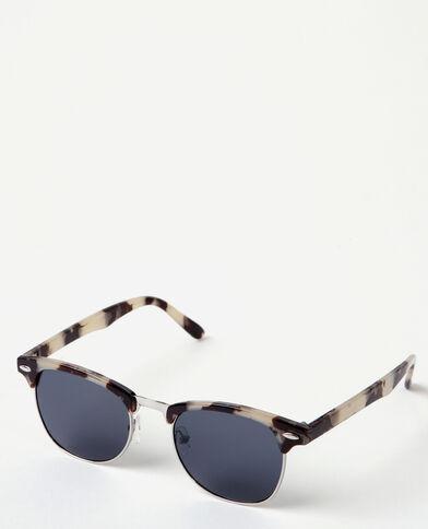 Gafas de sol retro blanco