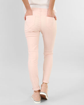 Pantalon slim rose