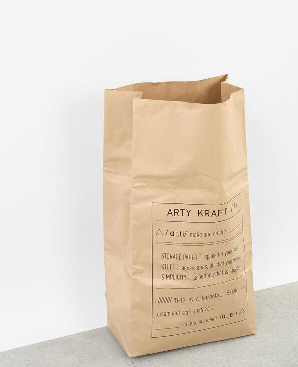 Papiertasche ARTY KRAFT Schwarz