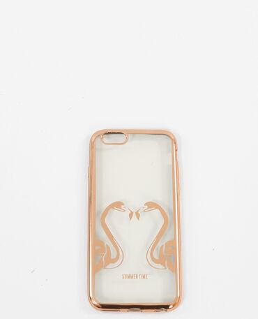 Coque compatible iPhone doré