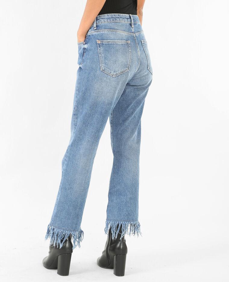 jeans mit fransen denimblau 177056683a06 pimkie. Black Bedroom Furniture Sets. Home Design Ideas