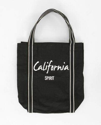 Strandtasche in Schwarz Schwarz