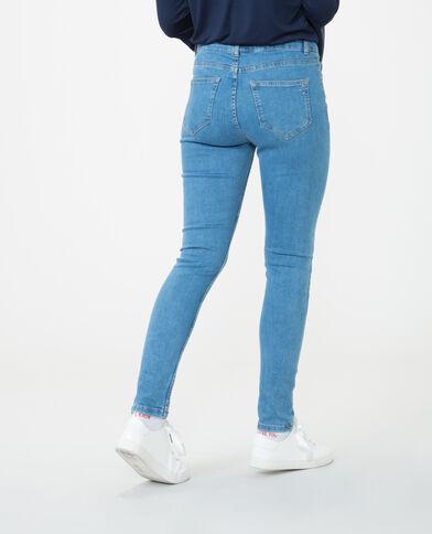 Jeans skinny talle alto azul
