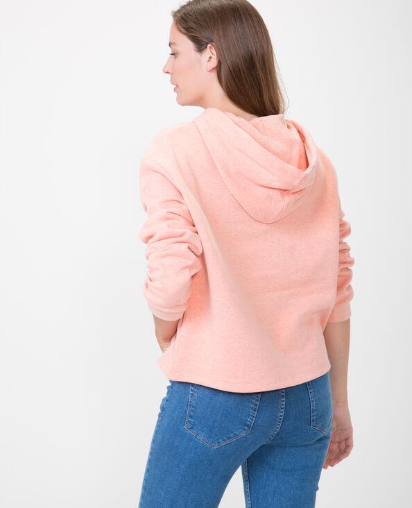 Kurzes Sweatshirt Orange