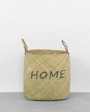 "Weidenkorb ""Home"" Braun"