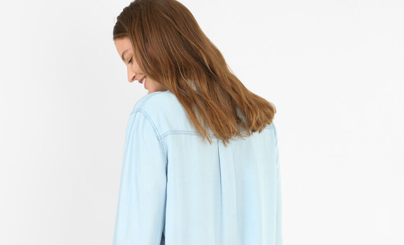 Hemdjurk Lichtblauw