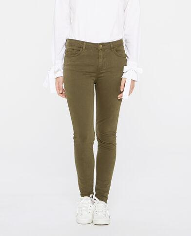 Skinny-Hose Khaki