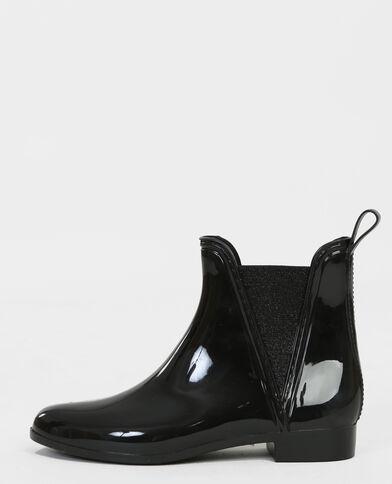 Chelsea boots gomma nero