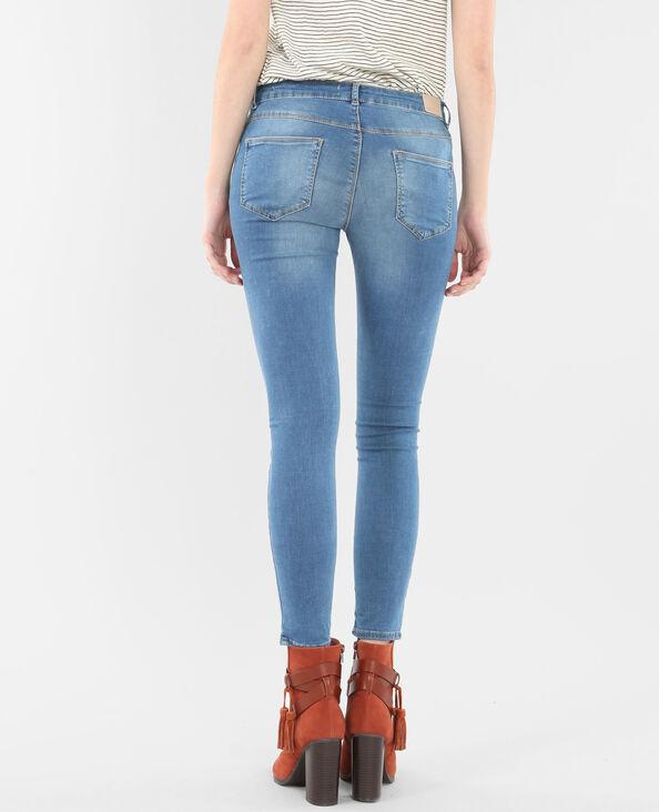 Skinny 7/8 bleu denim