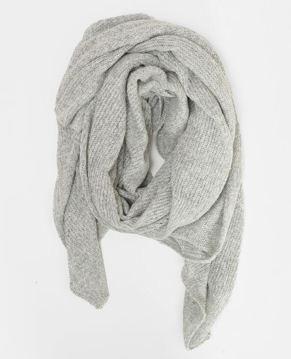 Sciarpa oversize grigio