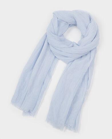 Halstuch Turbanstil Blau