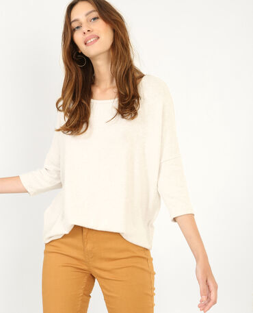 Jersey suave beige