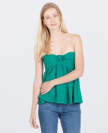 Bustier-Top Grün
