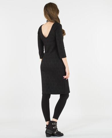 Vestido bodycon negro