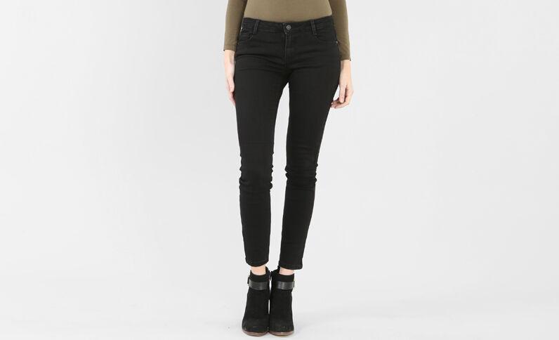 Slim-Jeans in Schwarz Schwarz
