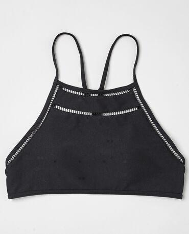 Haut de maillot de bain brassière noir
