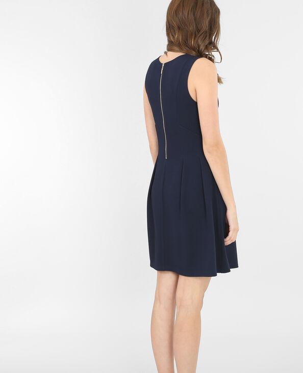 Skater-Kleid Marineblau