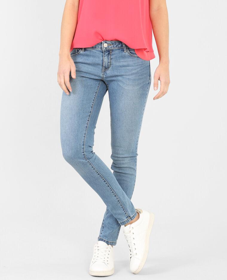 Pantalon skinny bleu