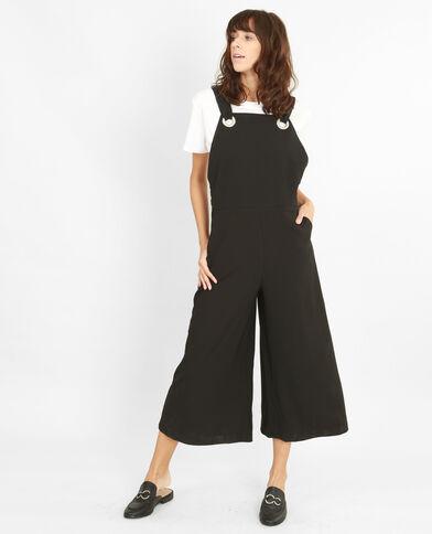 Combi-pantalon fluide noir