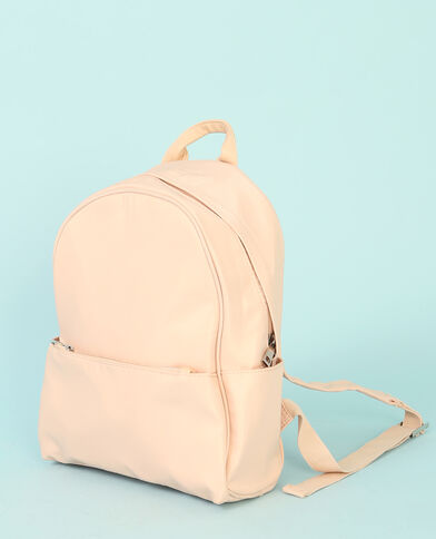 Petit sac à dos rose pâle
