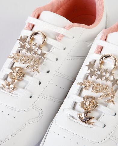 Gioielli per scarpe dorato