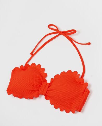 Fascia con petali arancio