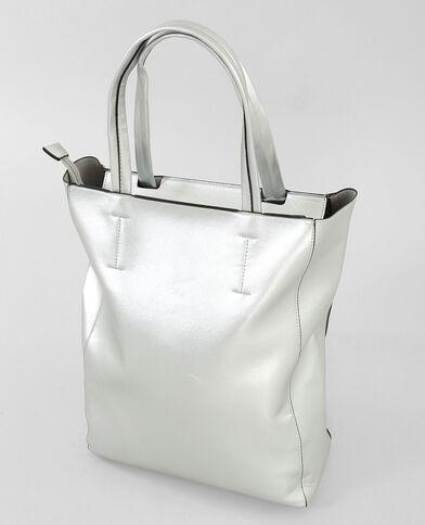 Einkaufstasche, silber Silber